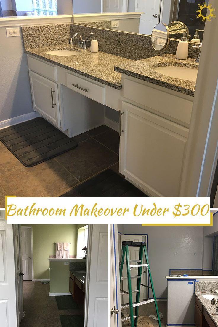 Bathroom Makeover Under 300 142 best home makeover images on pinterest | home, kitchen and live