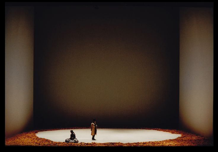 Eugene Onegin from the Metropolitan Opera 1997. Production by Robert Carsen. Sets by Michael Levine.