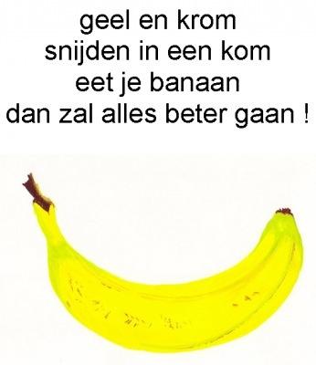 Gedicht banaan