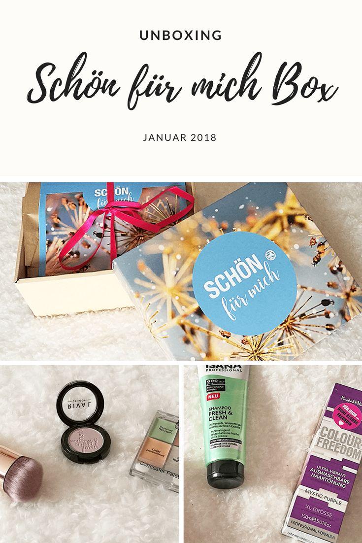 Die Schön für Mich Box von Rossmann überrascht jeden Monat mit einer tollen Auswahl an Kosmetik  und Beauty Produkten. Das volle Unboxing aller Boxen gibt es auf meinem Blog!