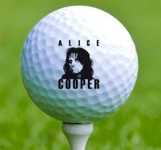 """My ingenious Alice Cooper Chernobyl sauna incident """"re-gift olive branch"""" has succeeded!  Indeed, his response has exceeded my expectations: a hand delivered gross case of his signature golf balls and a smashing bouquet of venus fly trap & skunk weed!"""