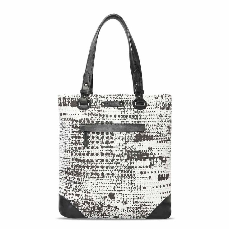 Buy #Blackandwhite Large Spotted Shopper Bag for Women Online India at Best Price @ #voganow