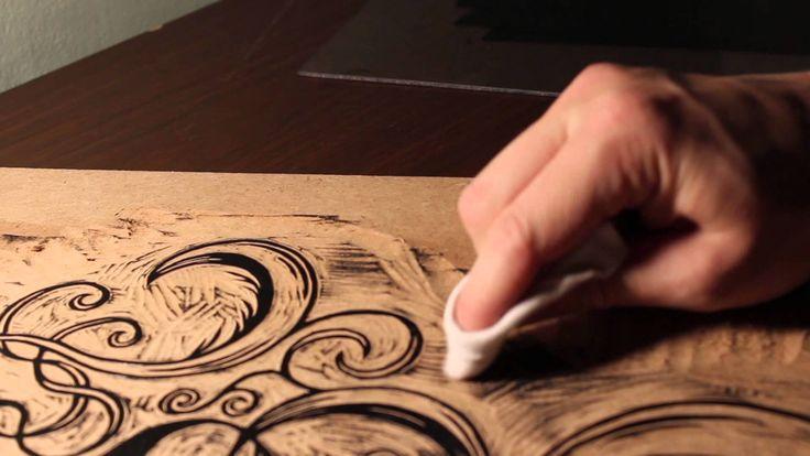 Woodcut Process