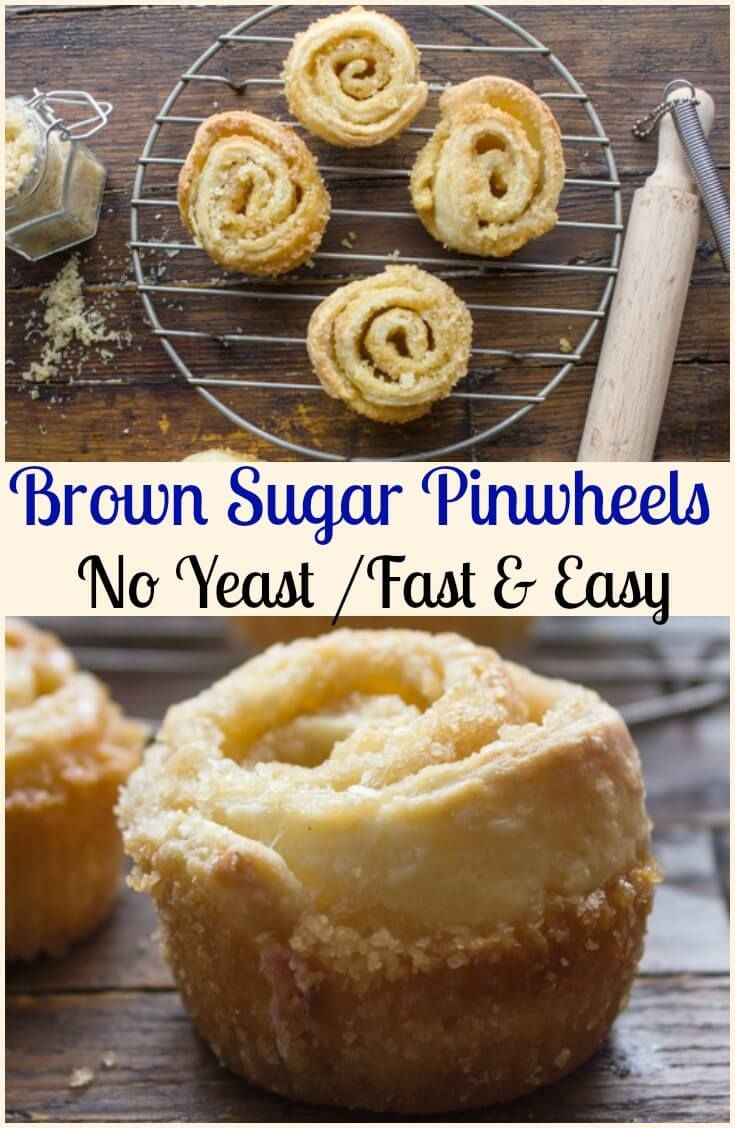 Brown Sugar Pinwheels, fast and easy, no-yeast brown sugar pinwheels,better than a cinnamon bun? Yes they are! via @https://it.pinterest.com/Italianinkitchn/