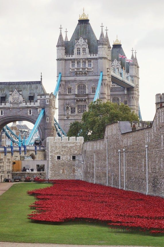 Blood swept lands and seas of red London