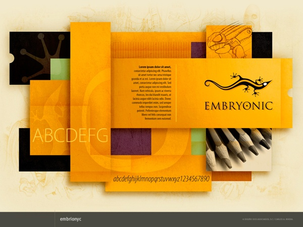 Embryonic by RiveraCarlos Disegno, via Behance