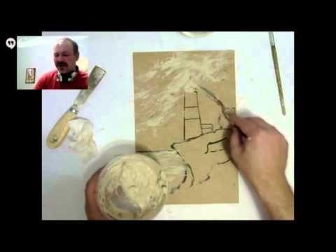 Мастеркласс объемная картина Старинная карта - YouTube