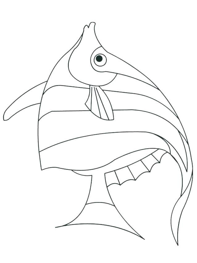 Angel Fish Coloring Page Youngandtae Com In 2020 Fish Coloring Page Unicorn Coloring Pages Angel Fish