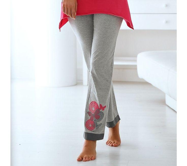 Pyžamové kalhoty, jednobarevné nebo s potiskem   blancheporte.cz #blancheporte #blancheporteCZ #blancheporte_cz #slevy #akce #vyprodej