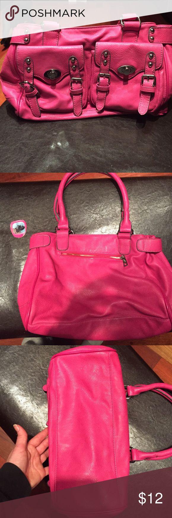 Melie Bianco Handbag Gently used Melie Bianco Handbag. Few pen marks inside. Outside on back near zipper small scratch. Melie Bianco Bags