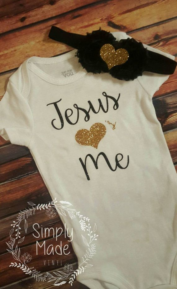 Jesus Loves Me Onesie Super Cute Baby Shower Gift Https