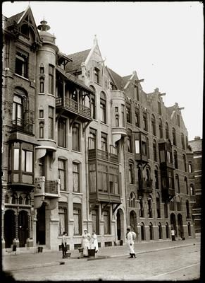 Jan Luijkenstraat, 4 juni 1898. Jacob Olie