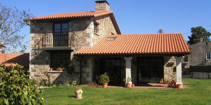 Casas rusticas modernas 1 architecture and landscape - Modelos de casas rusticas ...