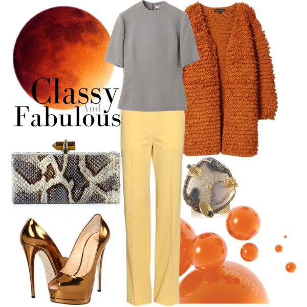 """""""Classy and fabulous"""" by nataliacg on Polyvore"""