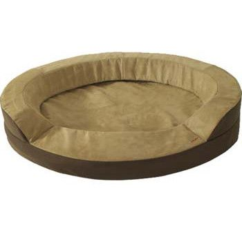 """Dolce Vita Oval Bed Regular Heated Dog Bed Large 41"""" x 30"""""""