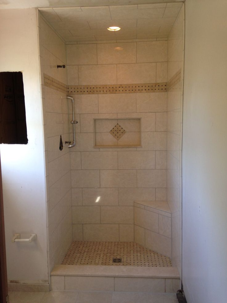 Master Bath, Stand Up Shower, Niche, Shower Bench, Schulter Shower Systems