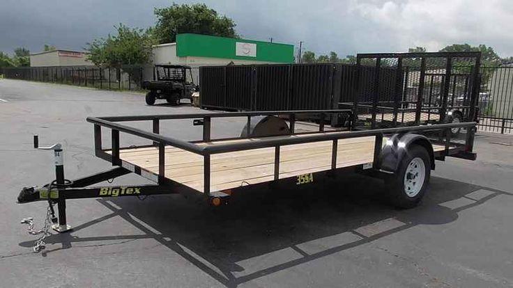 New 2016 Big Tex Trailers 12' Single Axle Trailer ATVs For Sale in Texas. 2016 Big Tex Trailers 12' Single Axle Trailer,