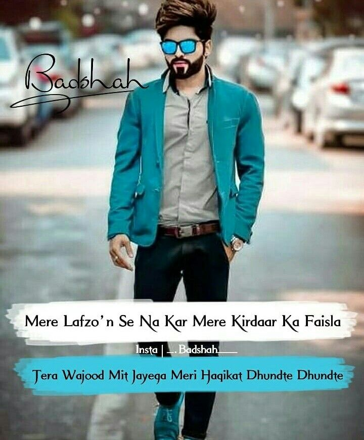 Hindi Shayari Wallpaper Girl Ruby ツ Attitude Quotes Attitude Quotes For Boys Bad