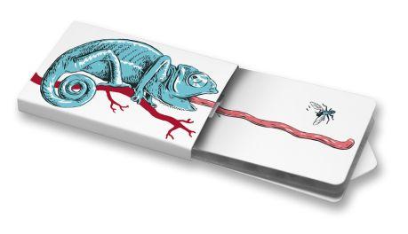 Chameleon #ilustration #ilustrace #ChewingGums #žvýkačky #CharityGums #chameleon