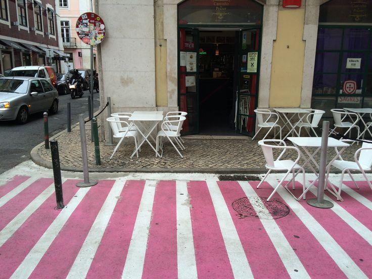 Rua Nova do Carvalho, #Pink Street in #Lisbon
