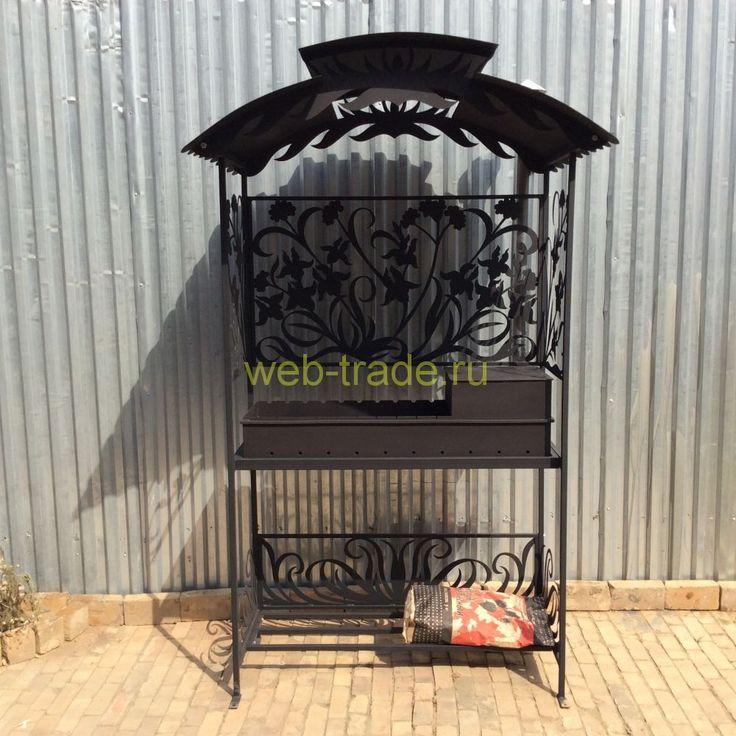 web-trade.ru отличные разборные мангалы с крышей