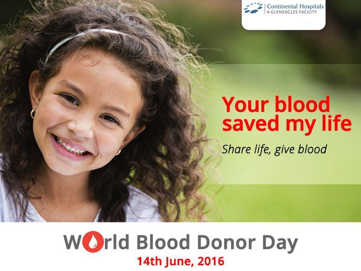 "Donating blood not only saves lives but also makes you healthier, So please come forward and donate blood on ""world blood donor day"" ‪#‎worldblooddonorday‬ ‪#‎GiveBlood‬"