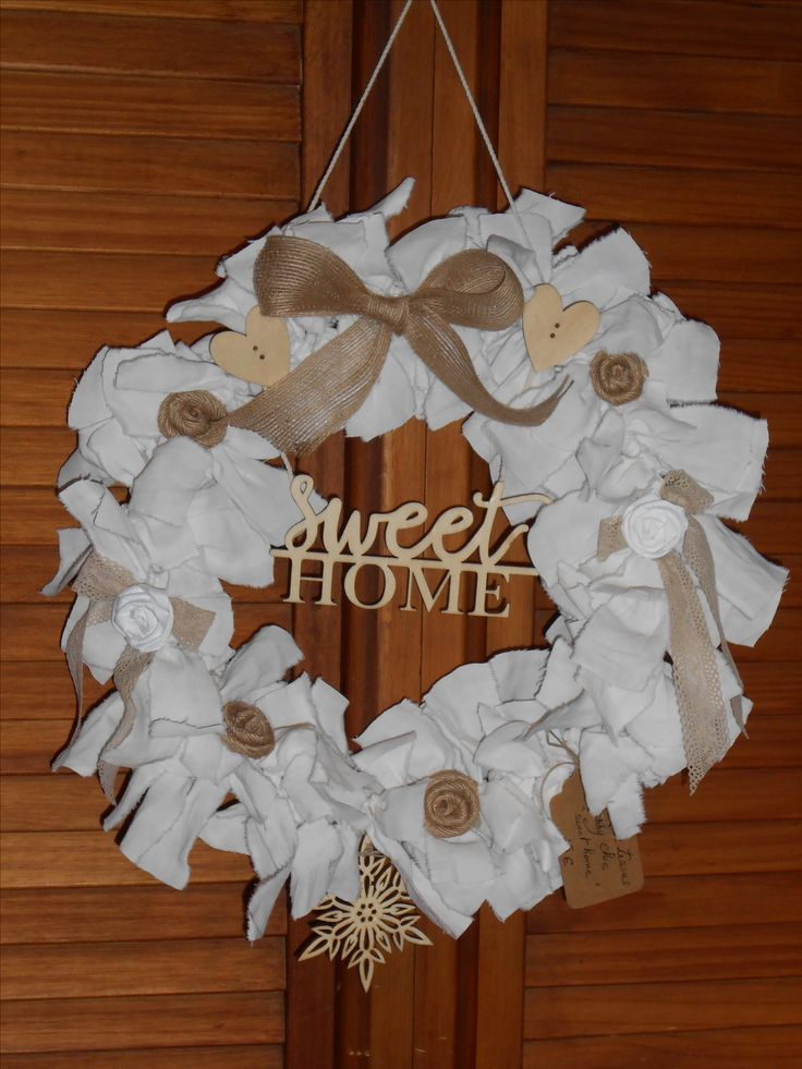 Couronne Tissus Shabby Chic
