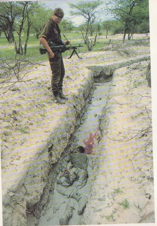South Africa Angola bush war - Hendri grew up close enough to hear the mortars fall.