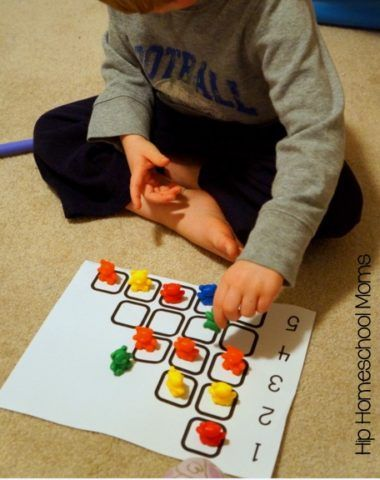 FREE Printable Preschool Math with Counting Bears