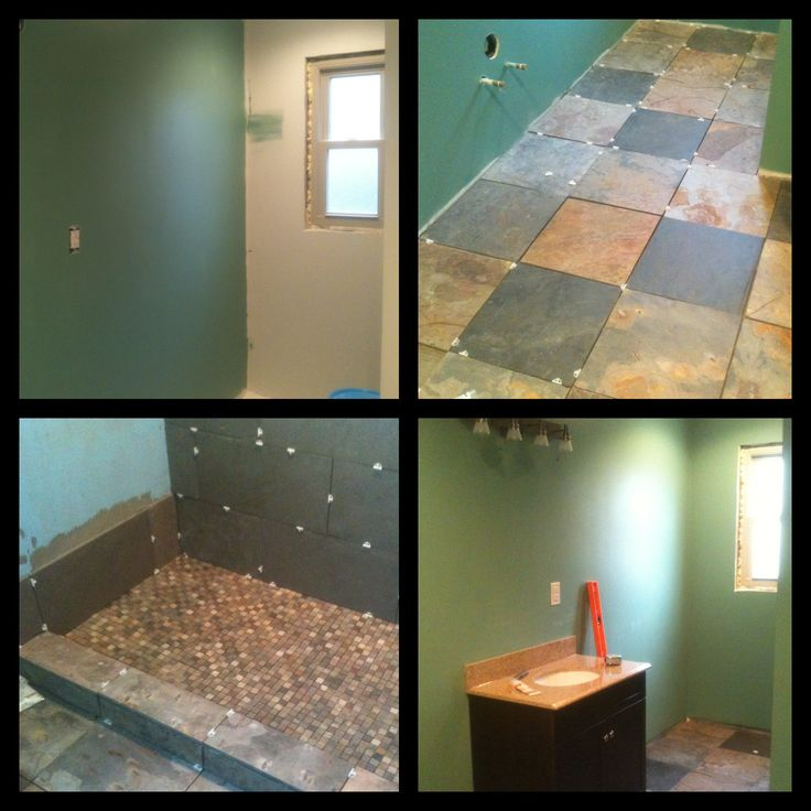 Images Of diy small bathroom remodel top left painting the bathroom top right installing natural x kb x