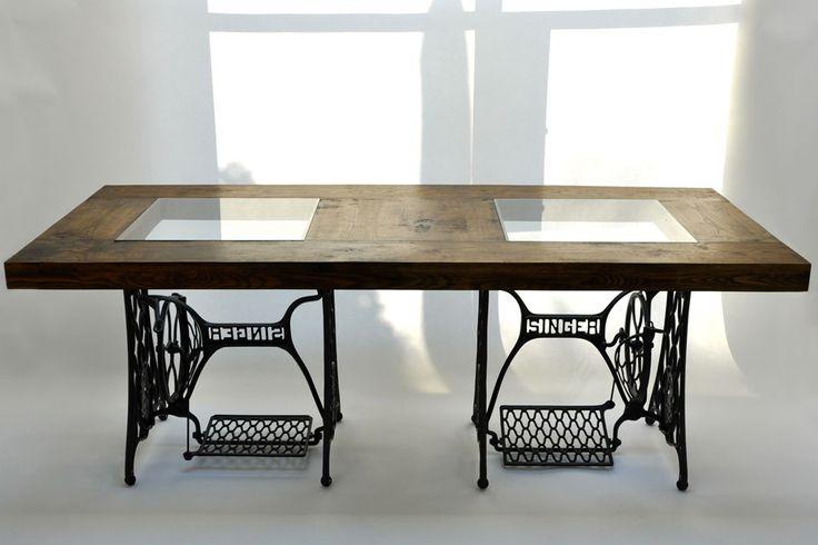 M s de 25 ideas incre bles sobre mesas de coser viejas en - Decoracion bodegas caseras ...