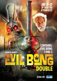 ORDER DVD If you're anything like me the sight of a chainsaw wielding Tommy Chong on the cover of a DVD about a killer bong just screams out WATCH ME! Shit sounds great right? Evil Bong is Full Moo...