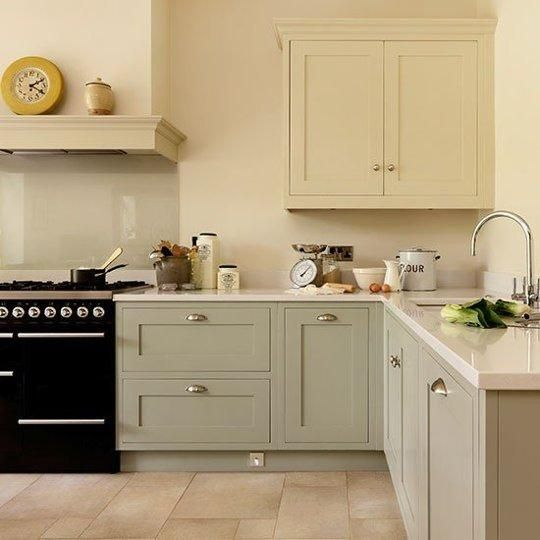 Easy On The Eyes: 5 Gray & Cream Kitchens (And The Perfect