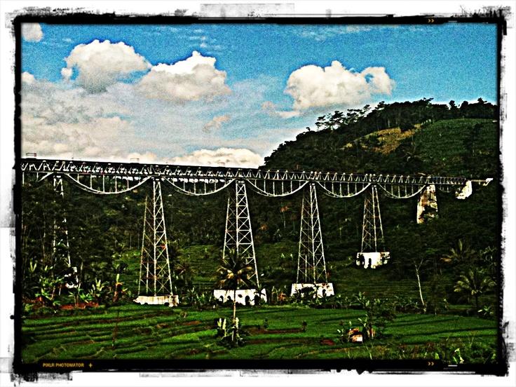 Old Railway. West Java, Indonesia.