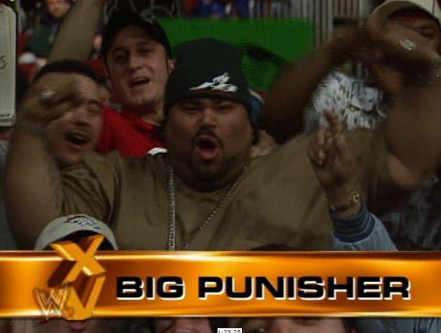 Big Pun at Wrestlemania