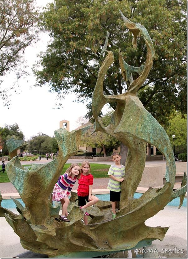 college campuses often offer great resources that local families can take advantage of!