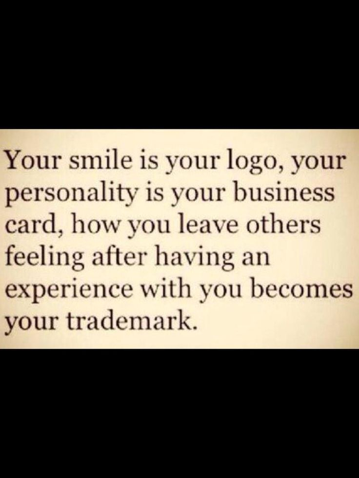Your Smile is your Logo #quotes  Embedded image permalink