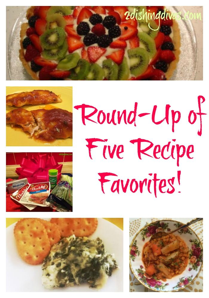 Heres A Great Round Up Of Five Recipe Favorites As Repinned On Pinterest Southern FoodBlog TopicsDiy