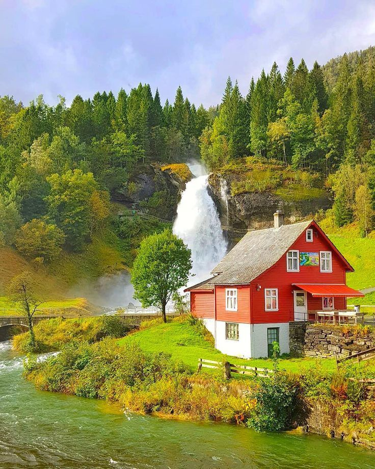 Norway – #Cuadros de paisajes #Lugares hermosos #Norway #Paisaje increibles #Pai…