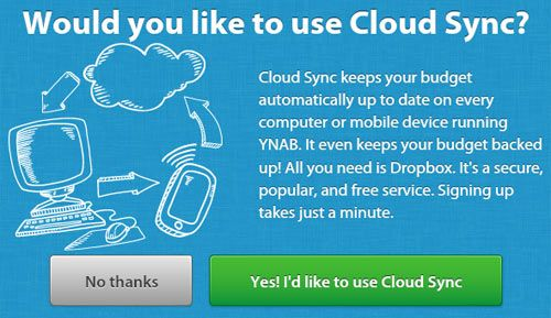 YNAB 4 which is being released today now has Cloud Sync so you can update and backup your finances anywhere. http://www.biblemoneymatters.com/you-need-a-budget-4-ynab-review/
