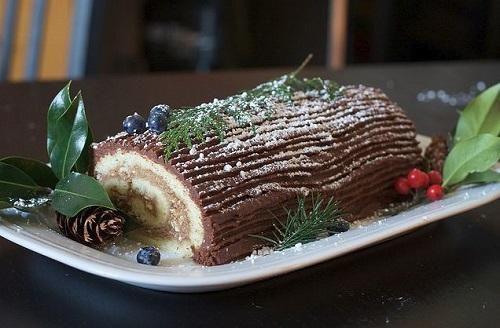 """Классический торт """"Рождественское полено"""""""