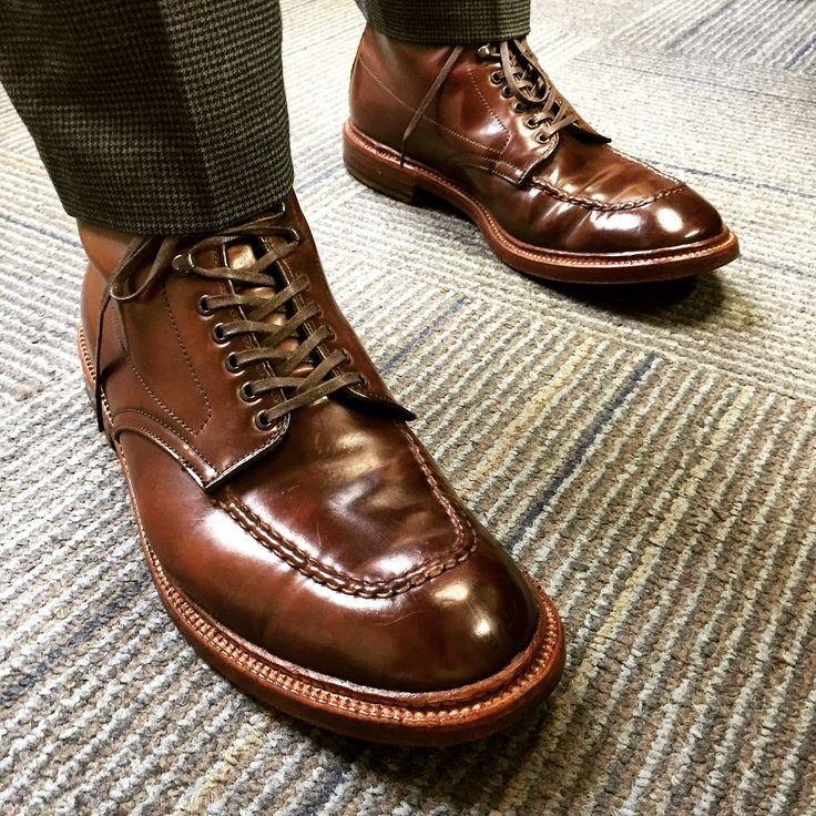 Alden Cigar Cordovan Indy boots from a 2012 run. Pic by SF user schmallo15