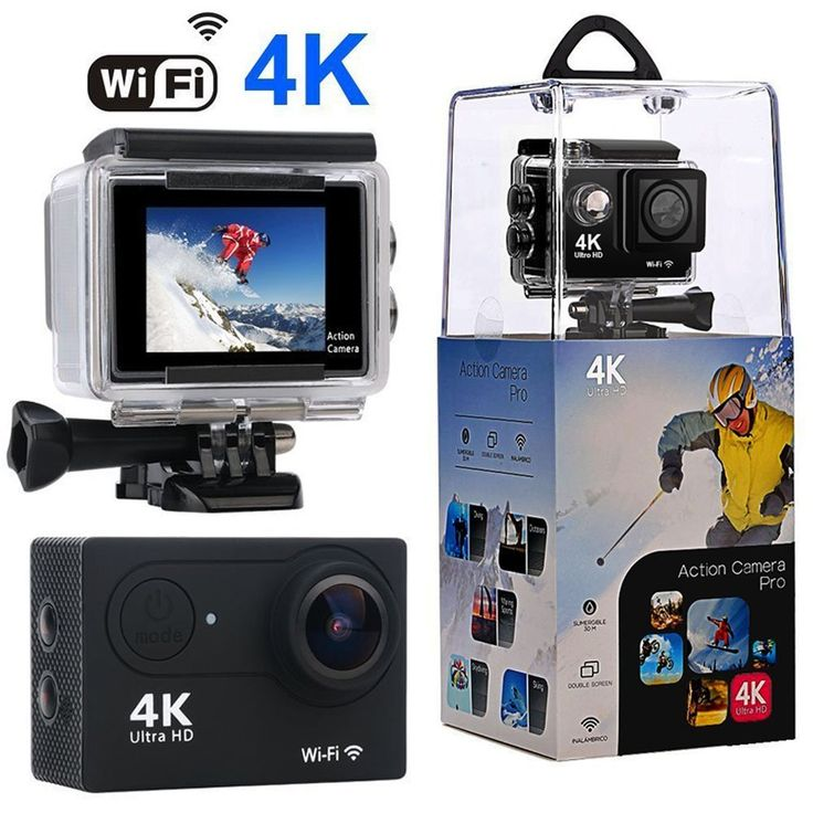 * Wewdigi WiFi Sports Action Camera Ultra 4K HD Deal * $49.99 * Save $80.00 (62%)