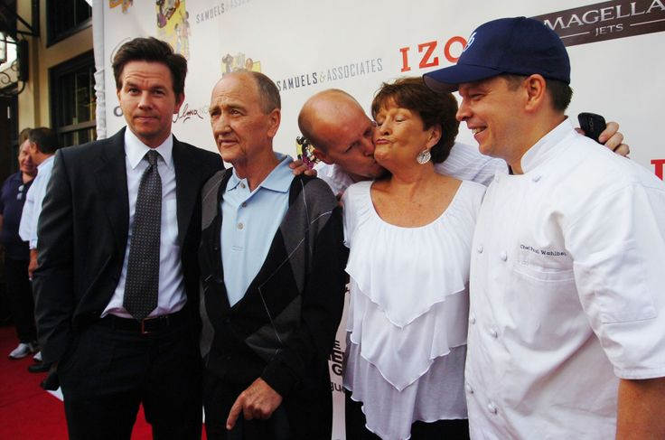 Paul Wahlberg Family Wahlberg family at opening of