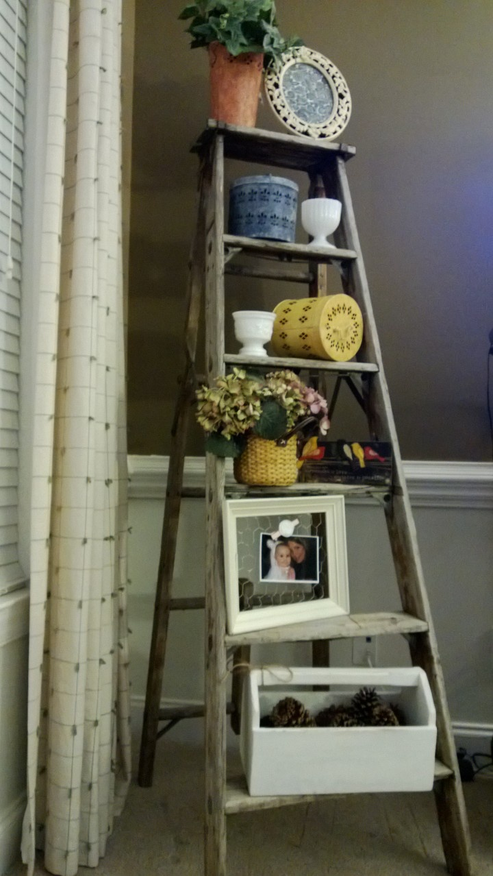 17 best images about antique ladders on pinterest in the for Old wooden ladder projects