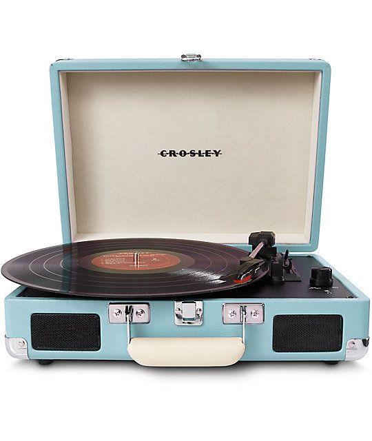 Crosley Cruiser Portable Turquoise Turntable In 2018