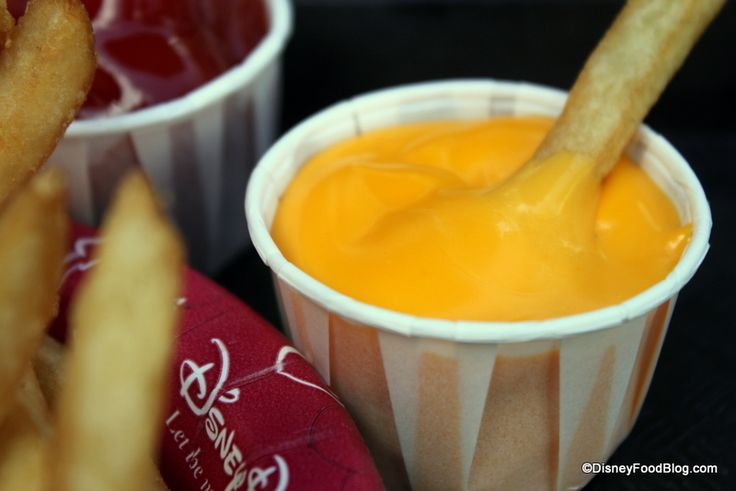 This is Terrible News: Disney World Plastic Cheese Sauce Removed From Condiment Bars :(