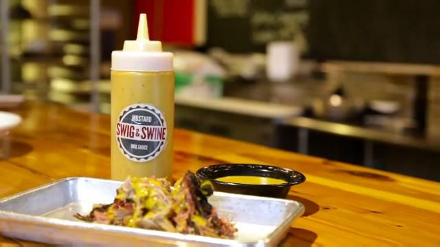 Chef Anthony gives a lesson in making a traditional South Carolina mustard-based BBQ sauce.