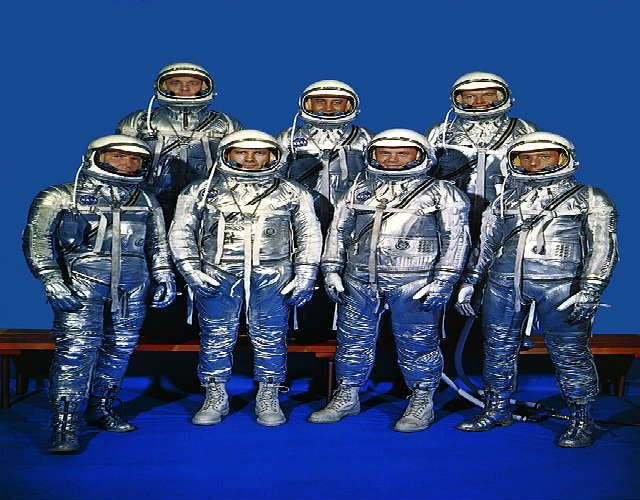 original seven astronauts selected - photo #21