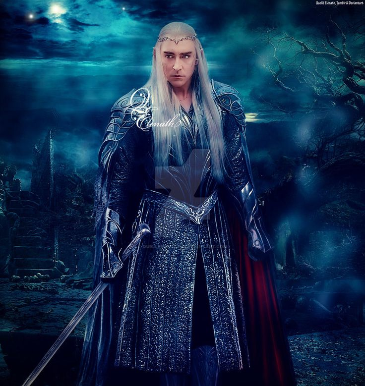 I found that Dol Guldur in The Hobbit 3 movie was amazing and mysterious so i took screenshot and put as background Picture source of Thranduil screenshot from The Hobbit 3 Movie scene of Thranduil...